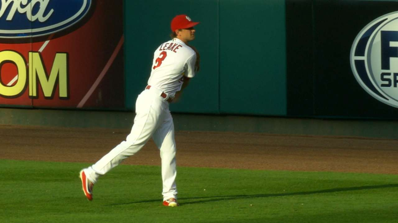 Leake's 11-strikeout performance