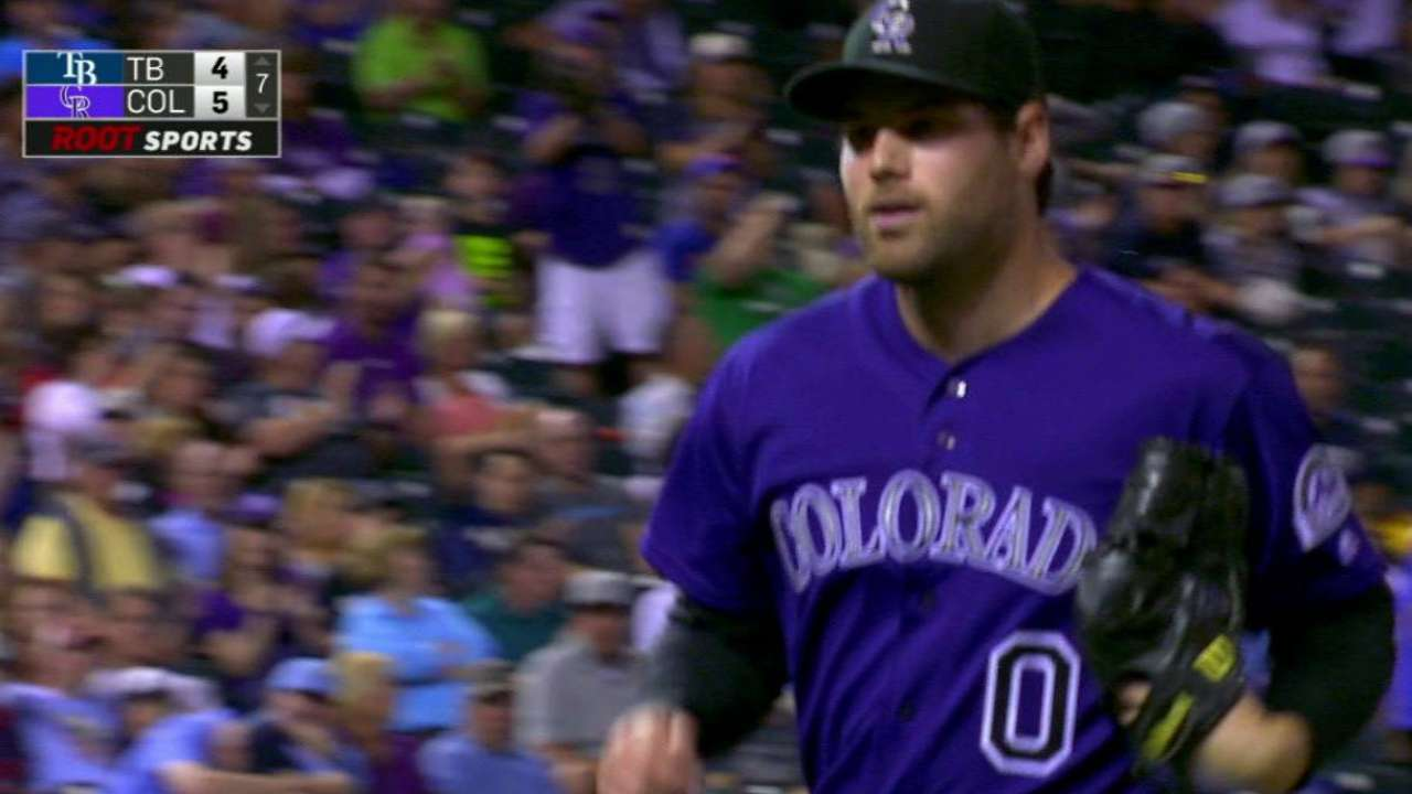 Ottavino gets big outs in win over Rays