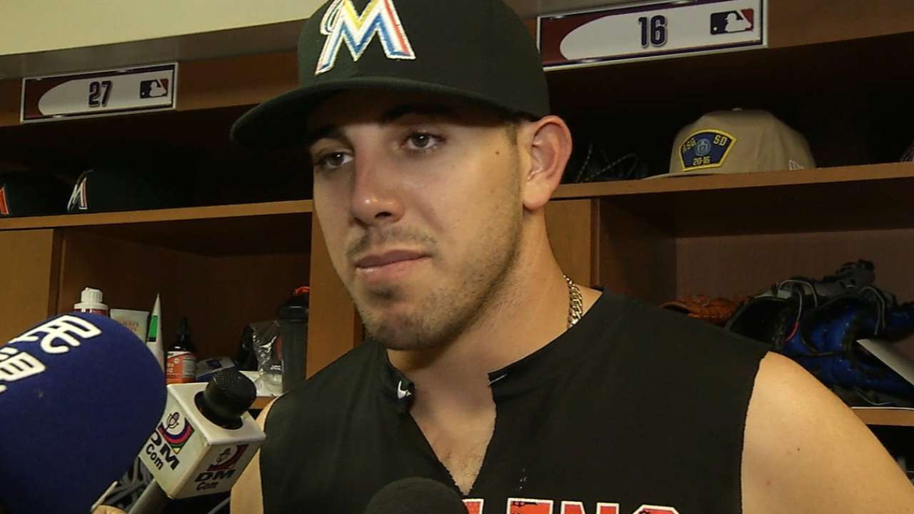 Fernandez on his dominant outing