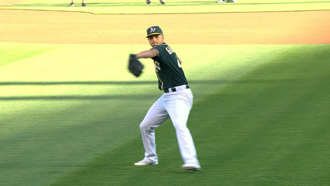 Graveman's effort rewarded thanks to A's big 4th