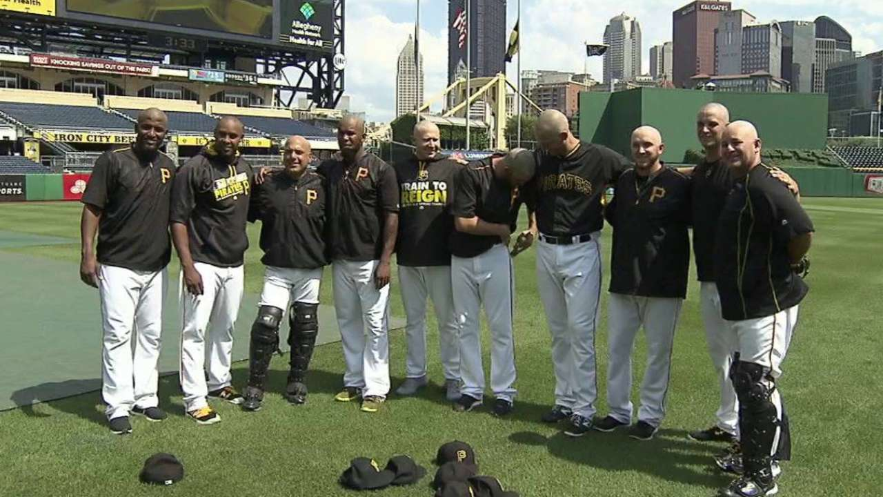 Pirates' 'pen leads league in shaves