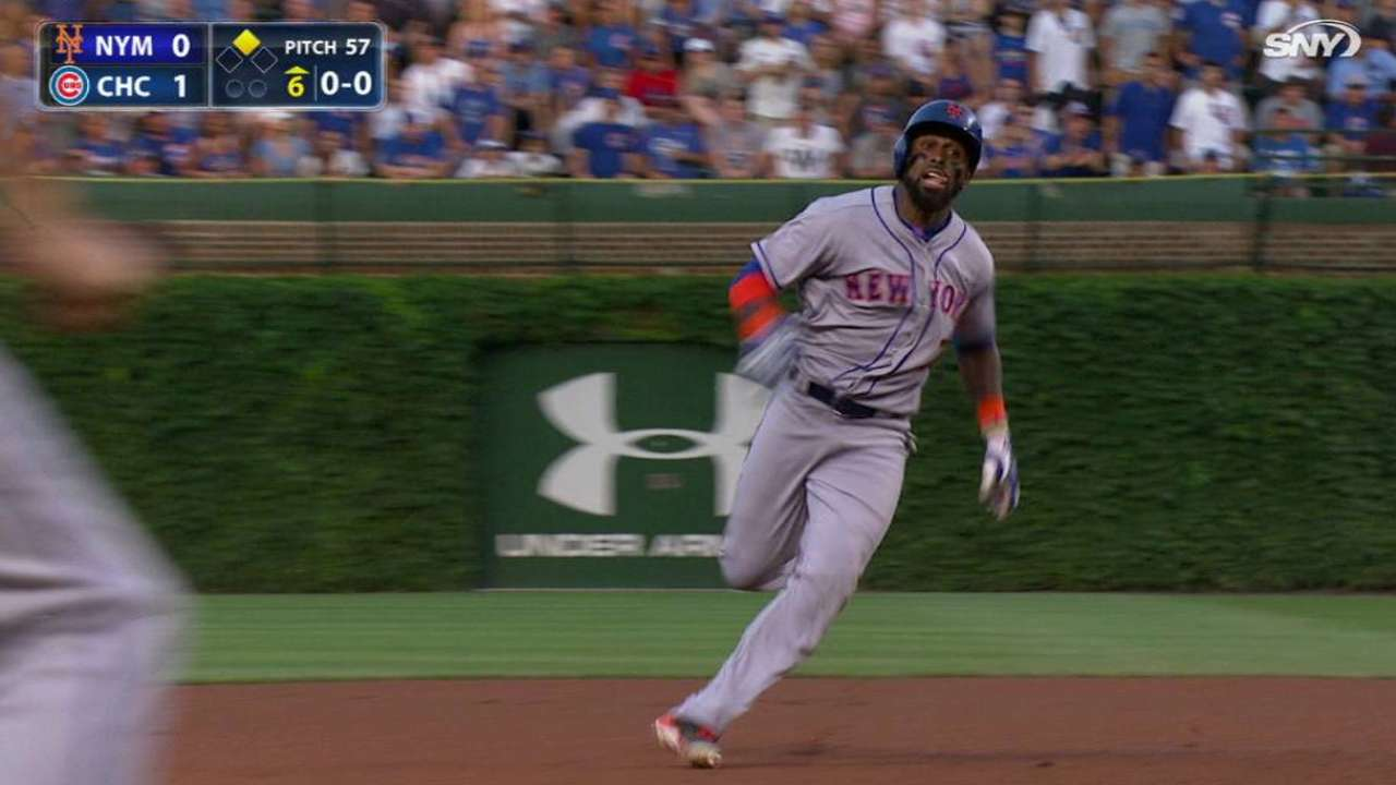 Reyes leads off 6th with triple