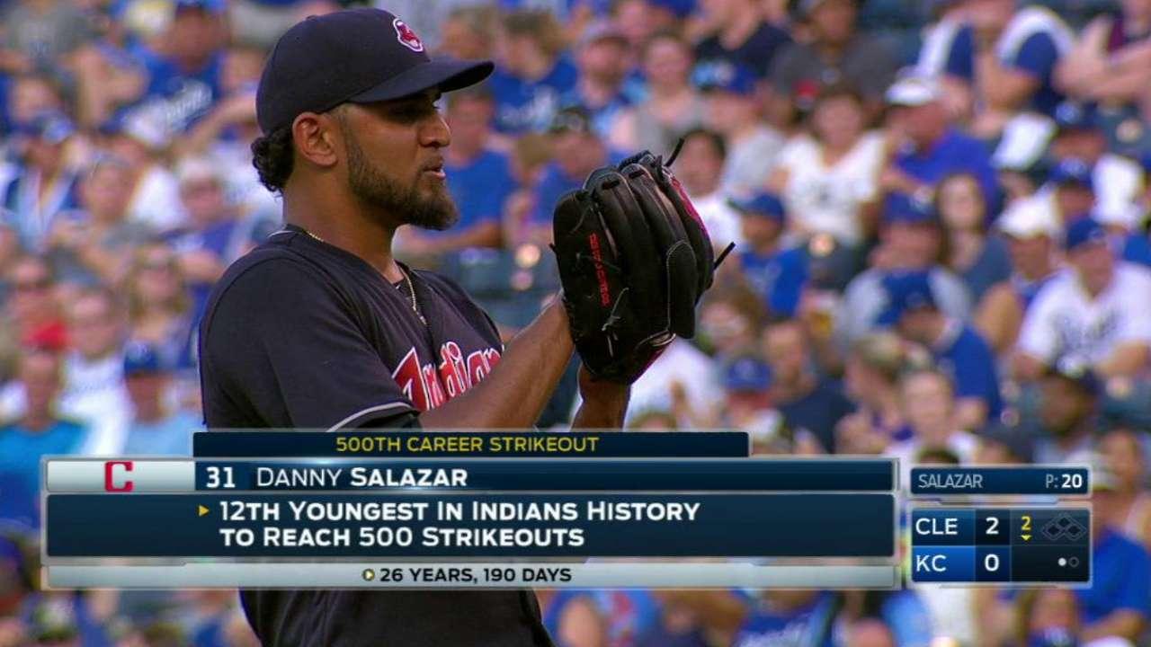 Salazar to rejoin rotation Thursday