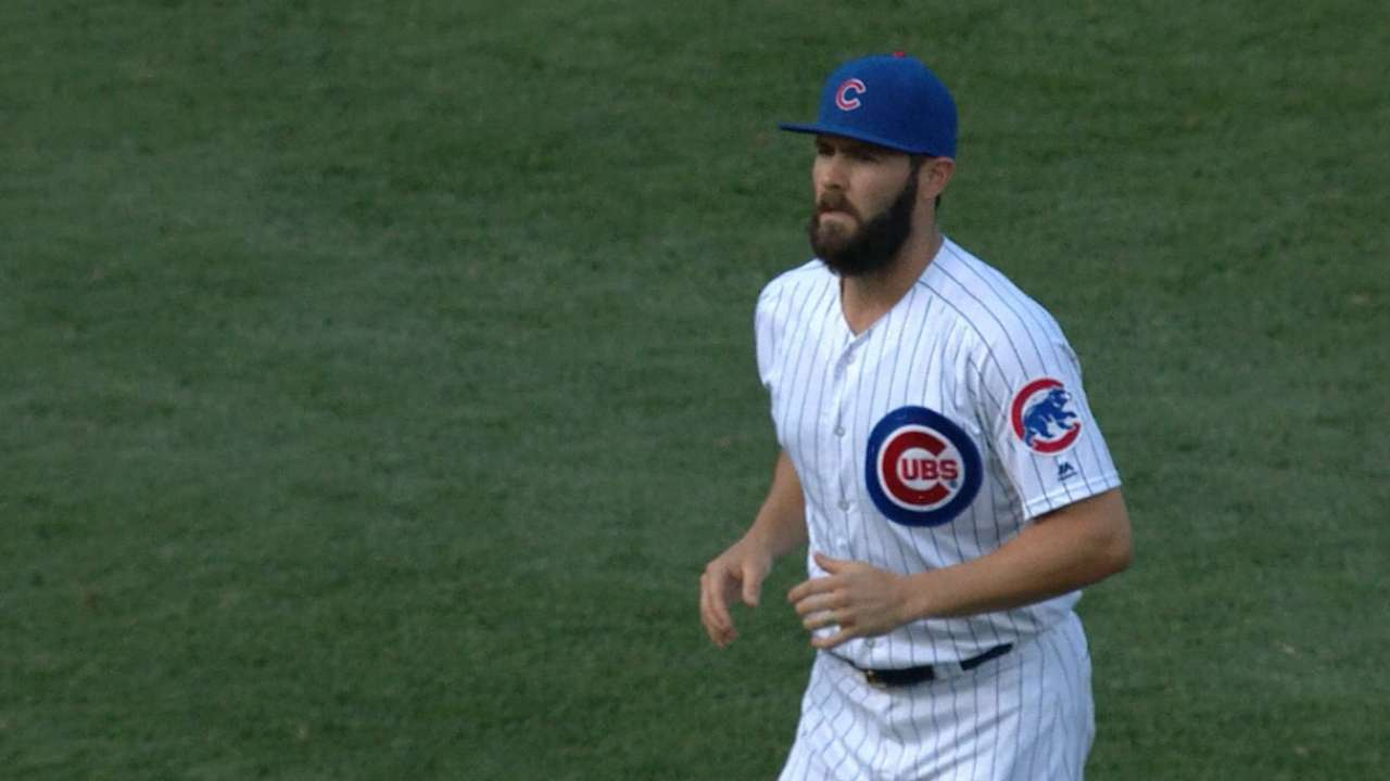 Arrieta's strong home outing