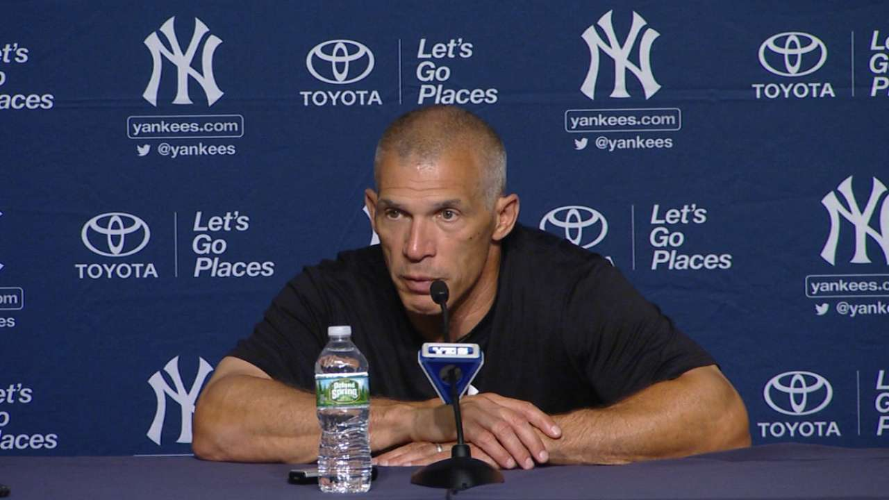 Girardi on the 7-1 victory