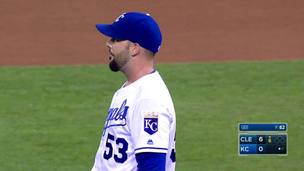 Fifth starter spot remains question for Royals