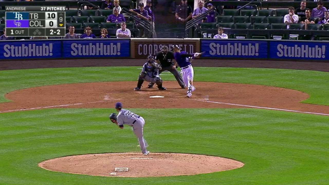Story a bright spot for Rockies in defeat