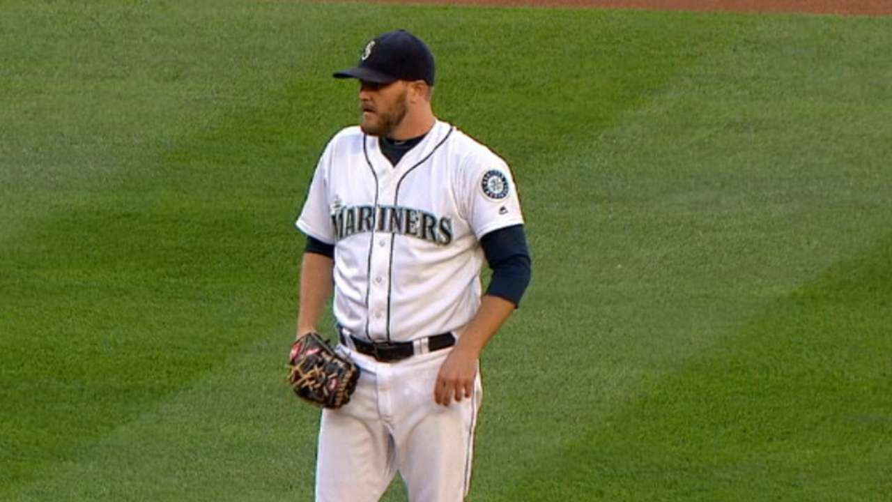 Mariners see Miley start as 'step in right direction'