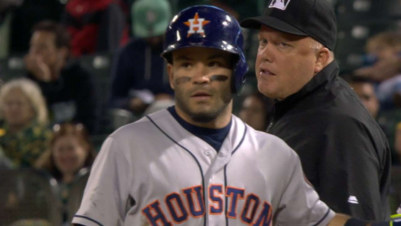 No place like road for hit-machine Altuve