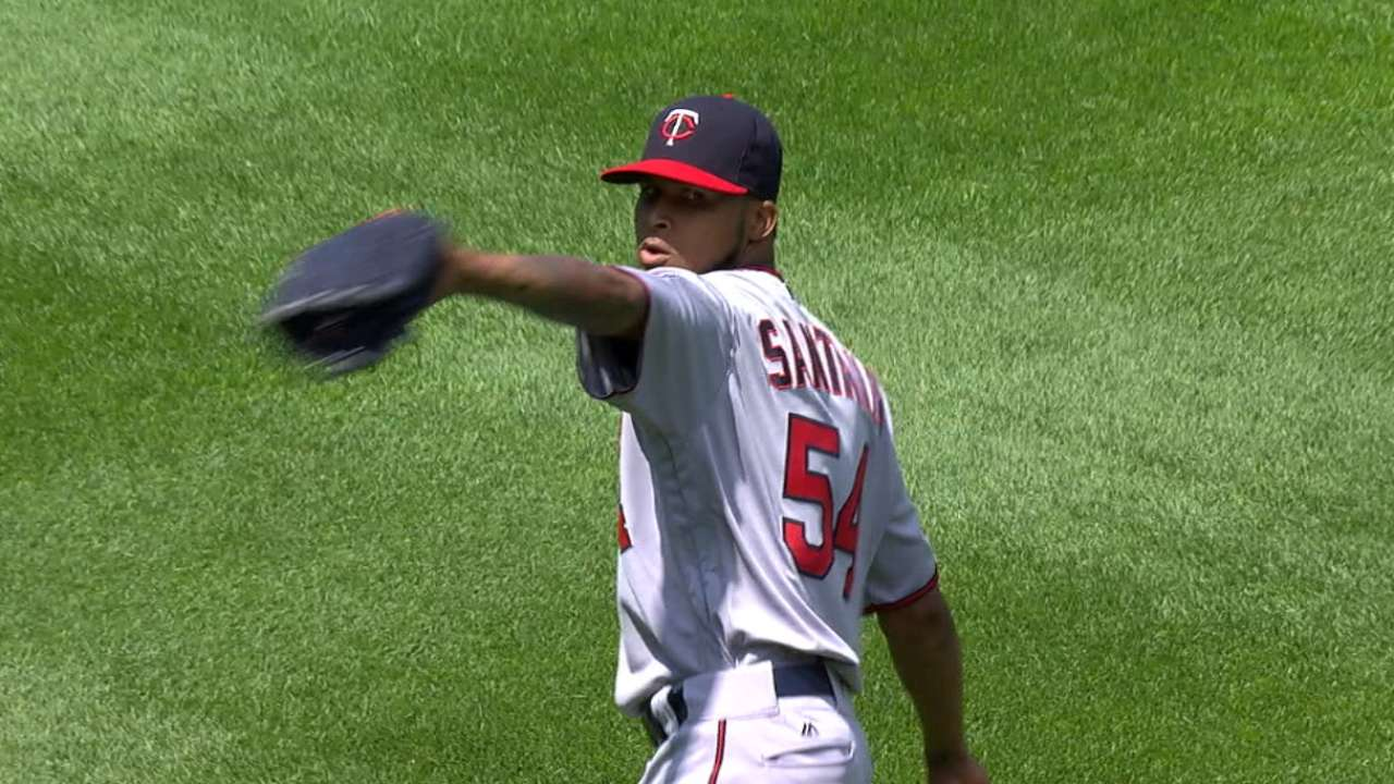 Santana's solid one-run outing