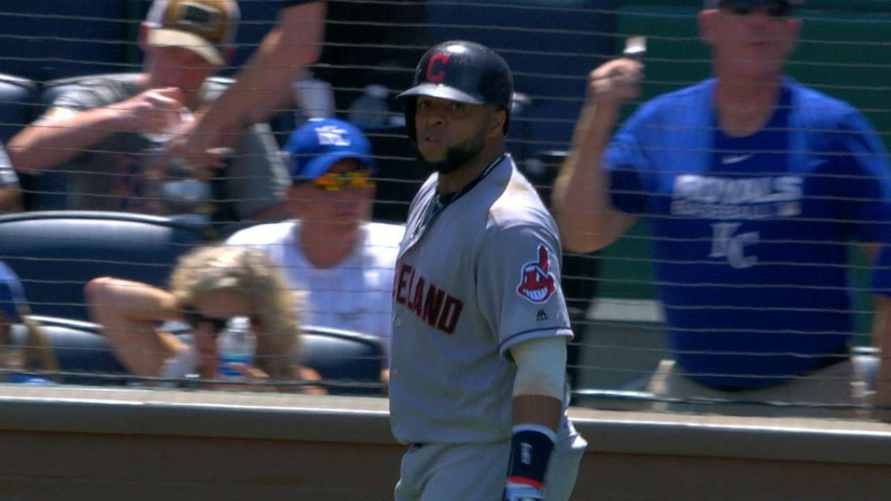 Indians' seven-run 5th inning