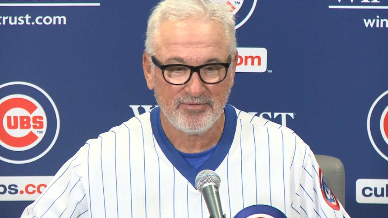 Maddon on the 6-2 win