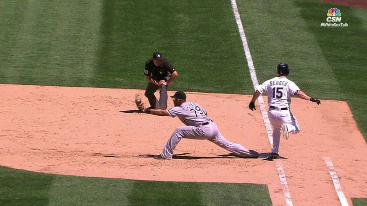 White Sox turn two after review