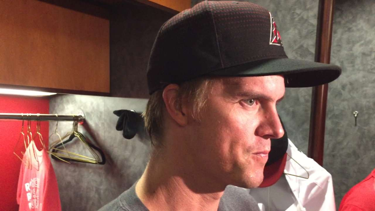 Greinke frustrated by slow rehab process