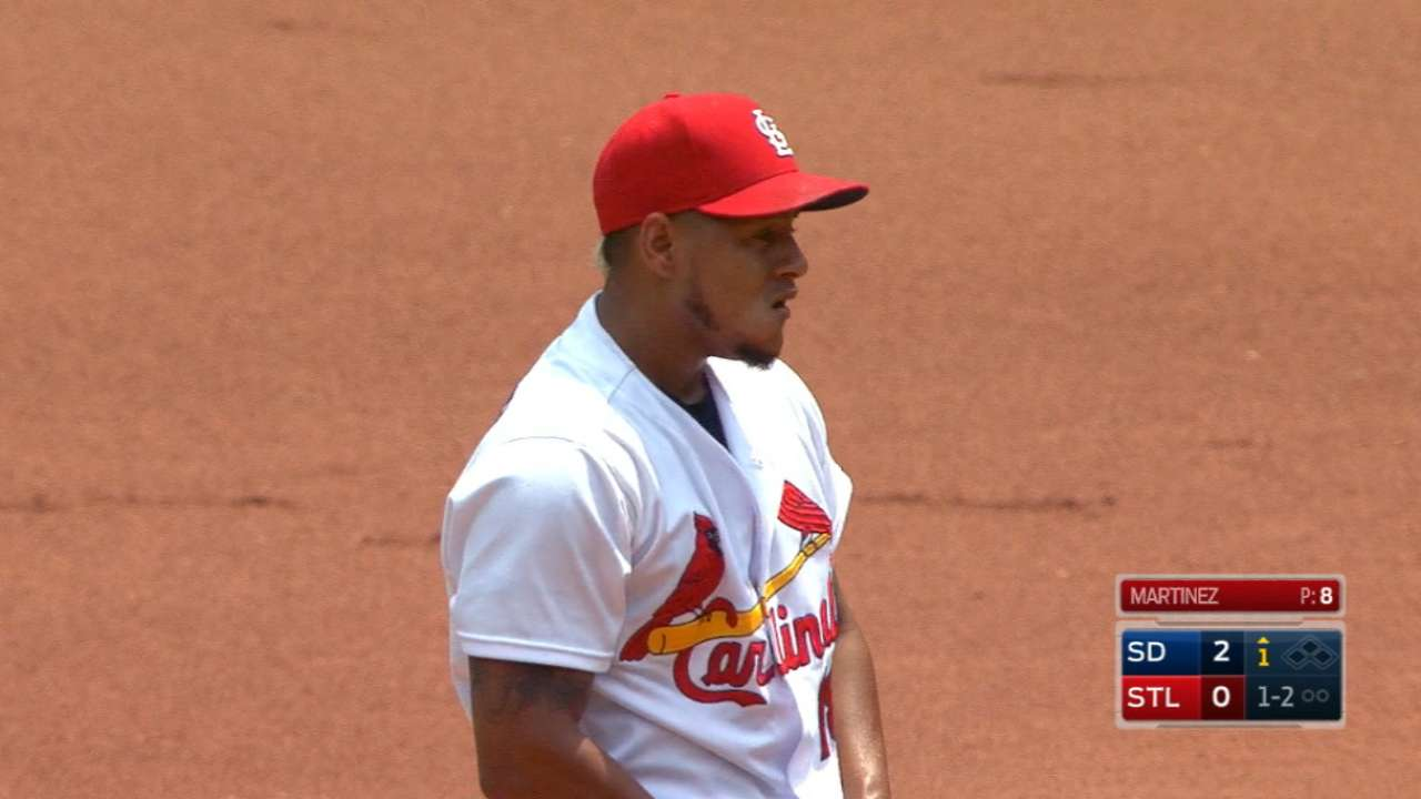Gritty Martinez, trio of HRs key Cards' win