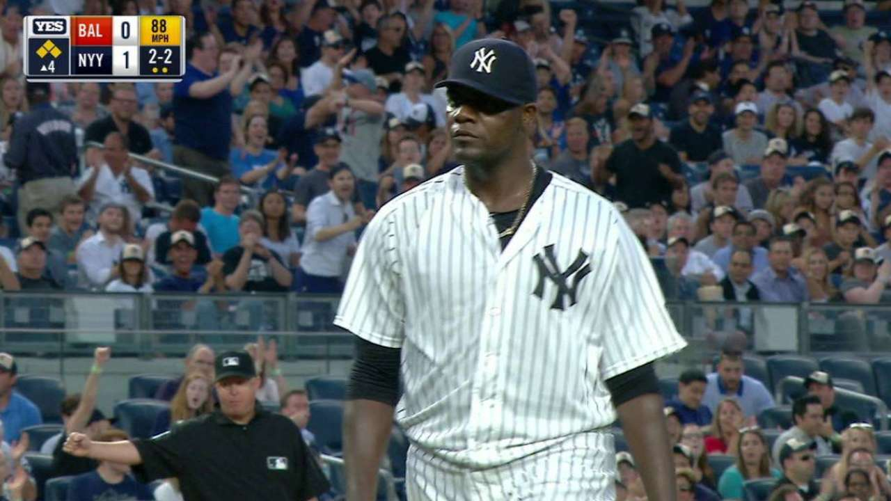 Pineda works out of trouble