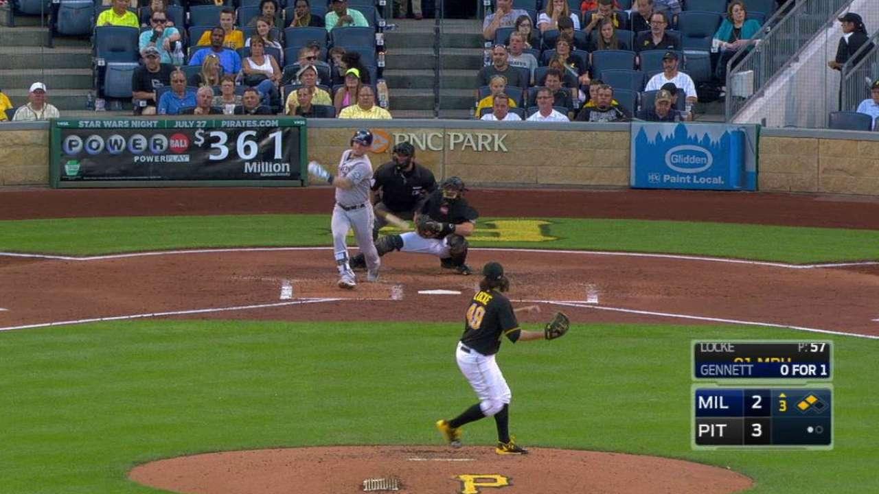 Gennett's two-run double
