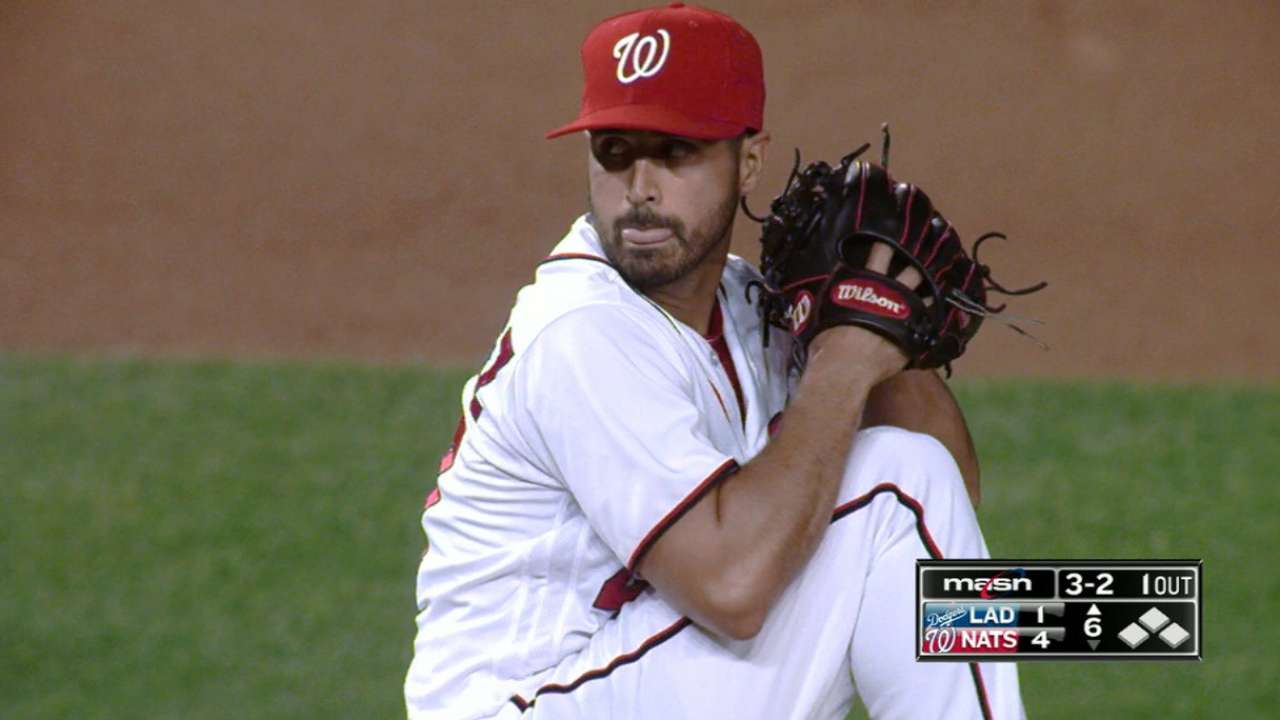 Gio strikes out six in win