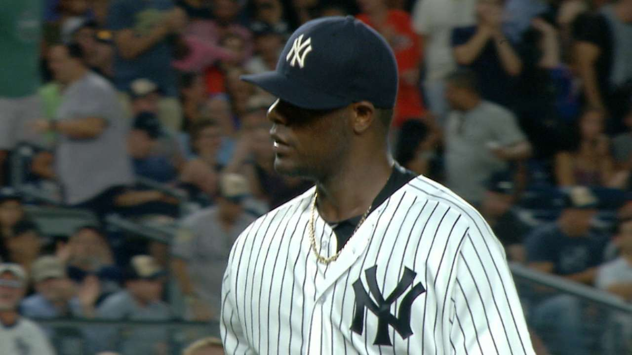 Pineda's six shutout innings