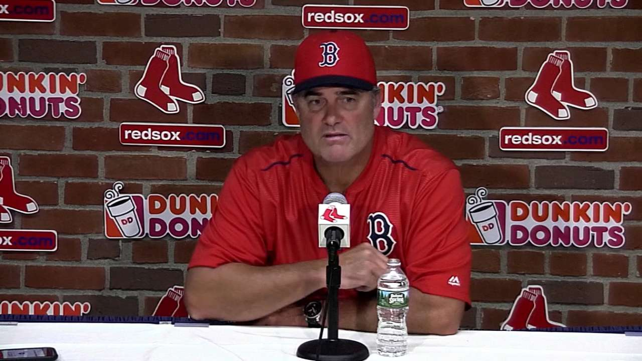 Farrell on Red Sox 11-7 win