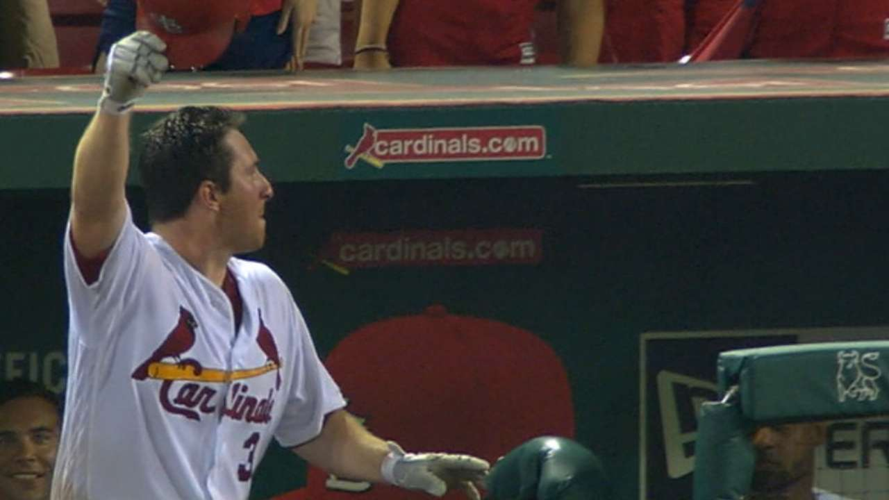 Gyorko Show: Ex-Padre carries Cardinals