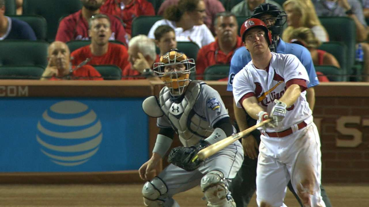 Gyorko homers in 5th straight meeting with Padres