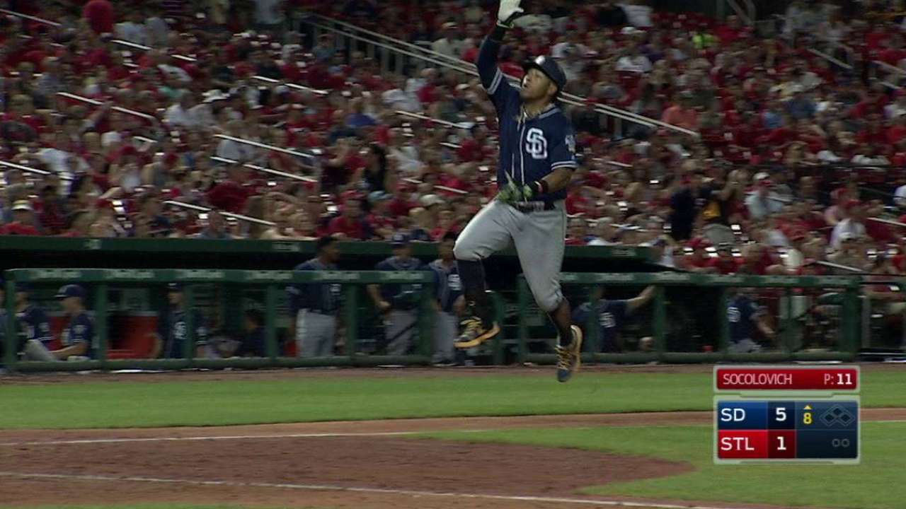 Solarte swats SD's HR streak to 19 games