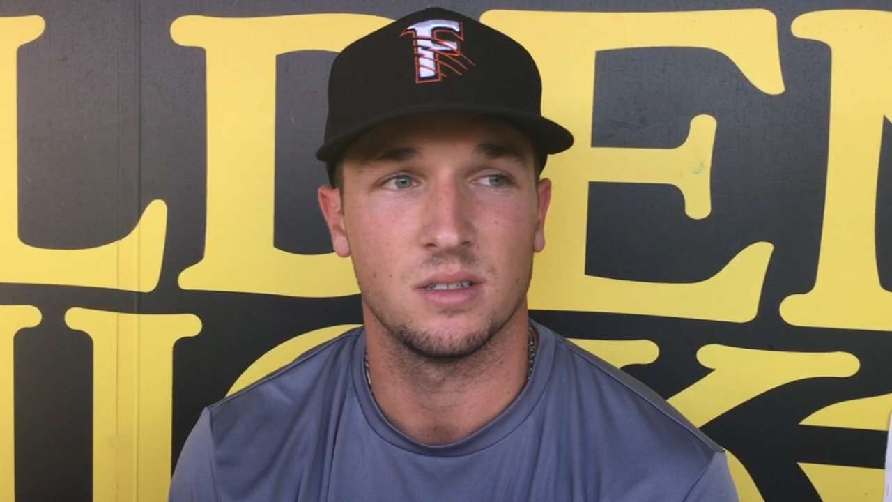 Bregman focused on making most of time at Triple-A