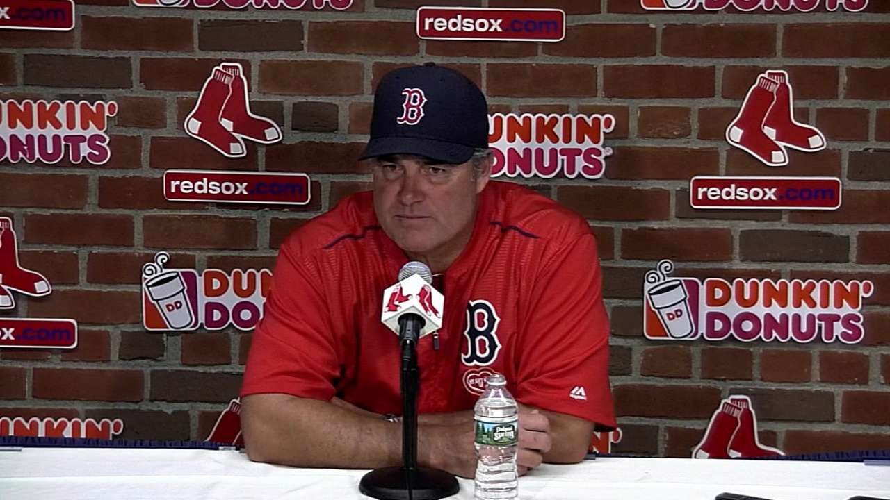 Farrell on 13-2 win over Twins
