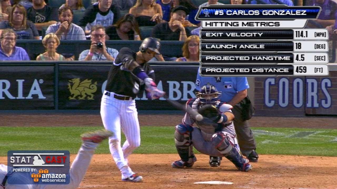 Statcast: CarGo's three-run HR