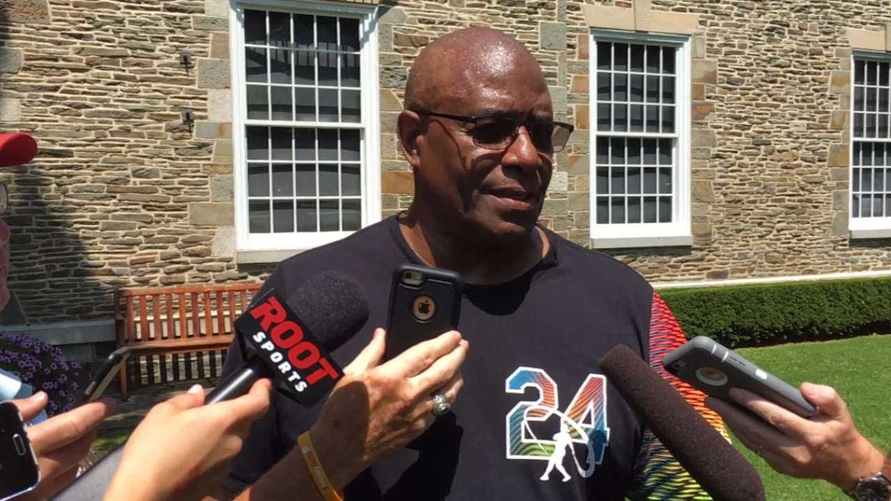 Griffey Sr. on son's induction