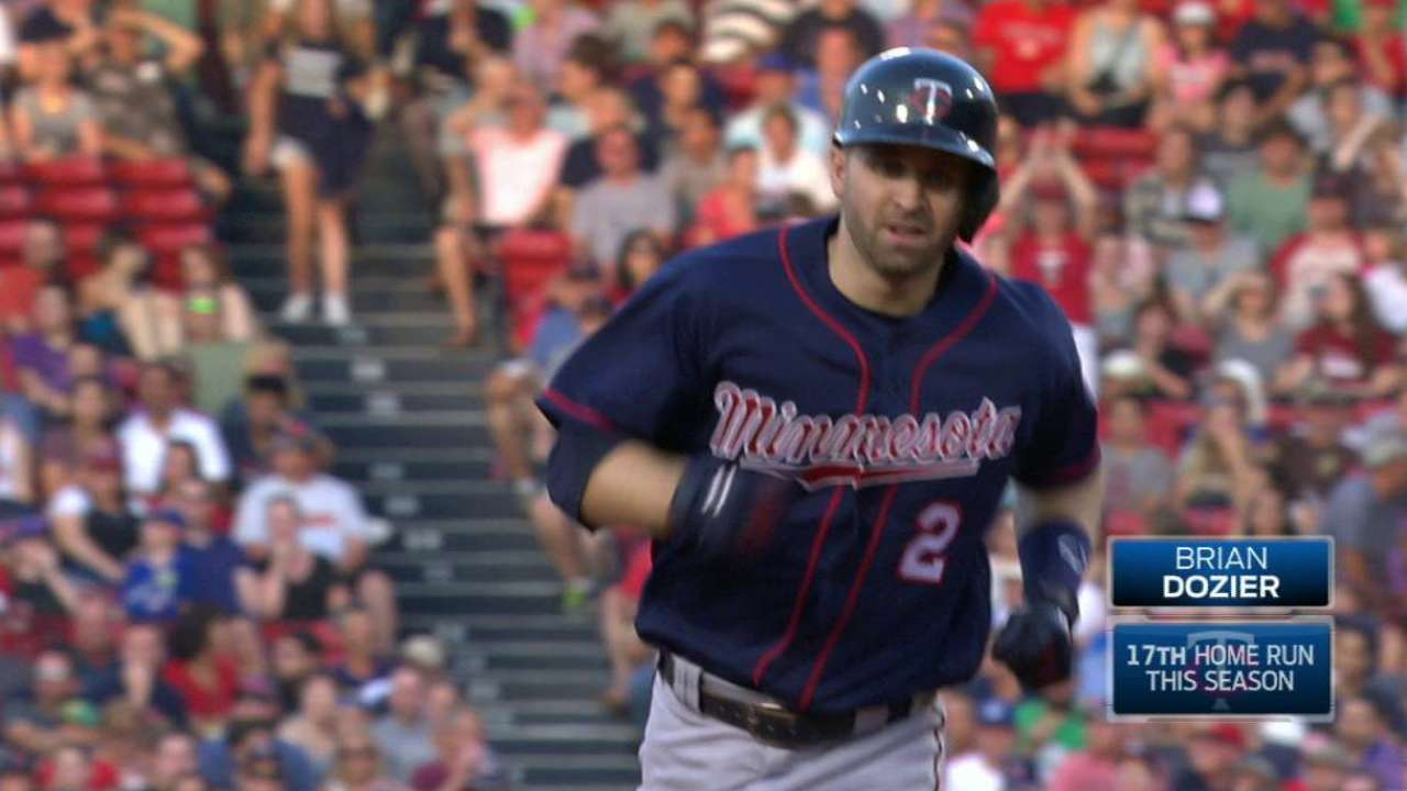 Dozier's solo home run