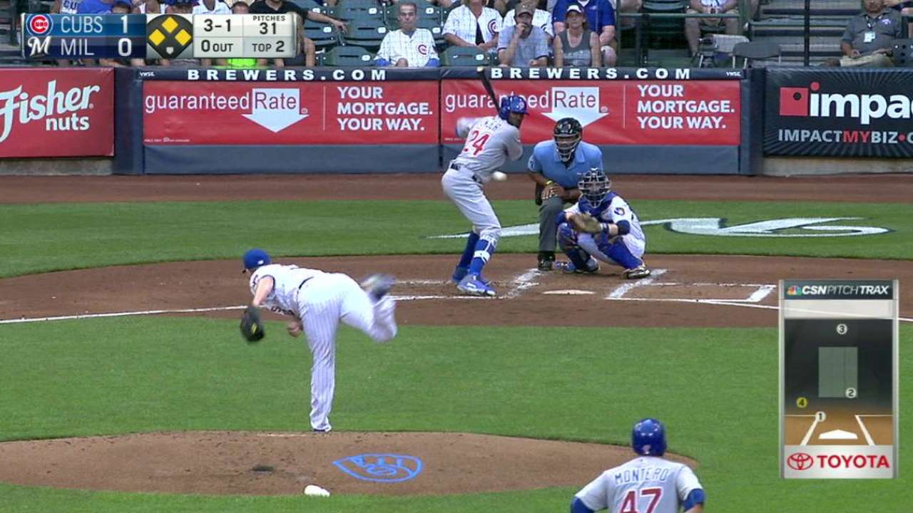 Fowler's two-run double