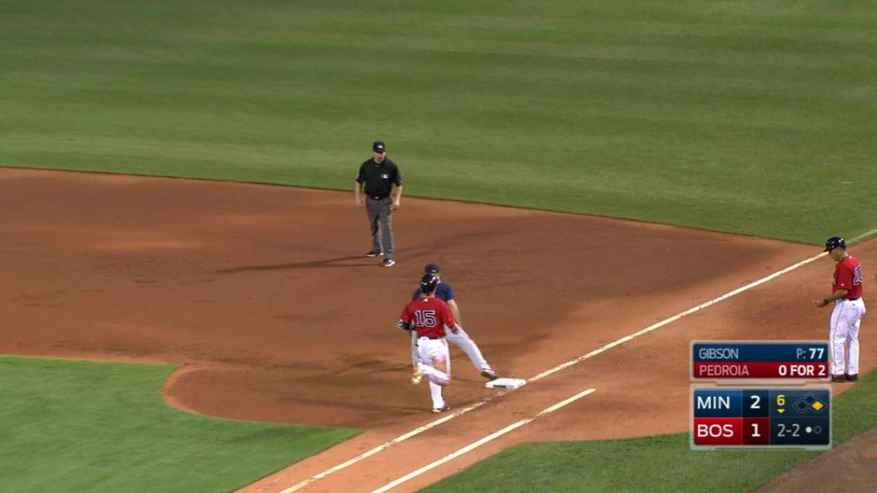 Gibson induces inning-ending DP