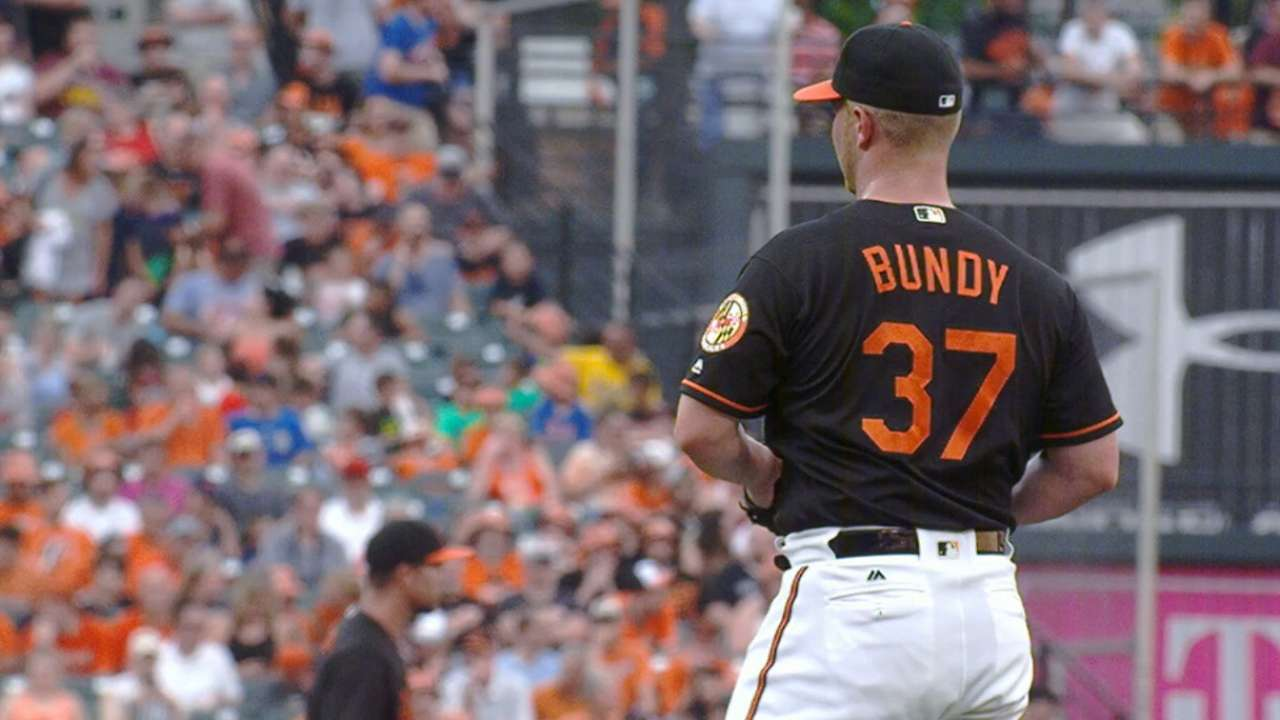 Bundy has career night, could ease rotation concerns