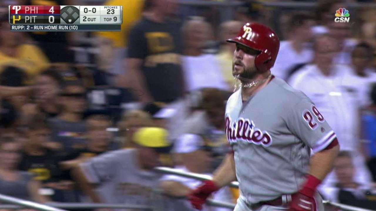 Rupp's two-run home run
