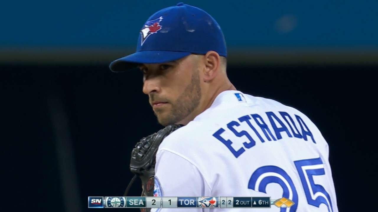 Blue Jays drop opener despite quality Estrada