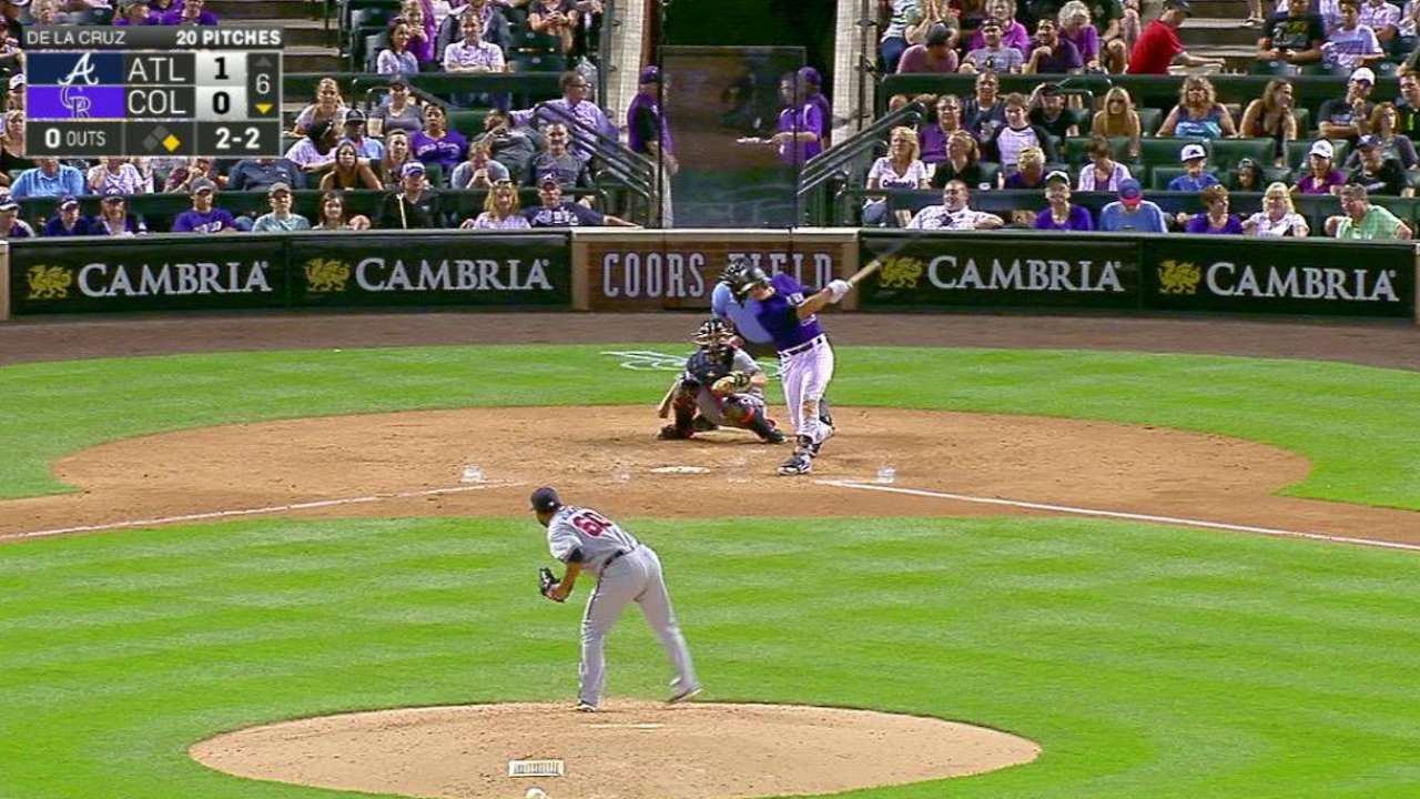 Arenado snaps slump after rare day off