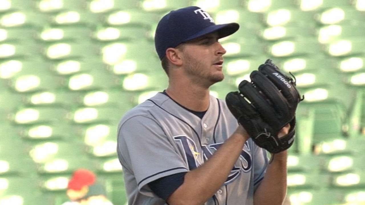 Odorizzi 'outstanding,' but bad luck persists