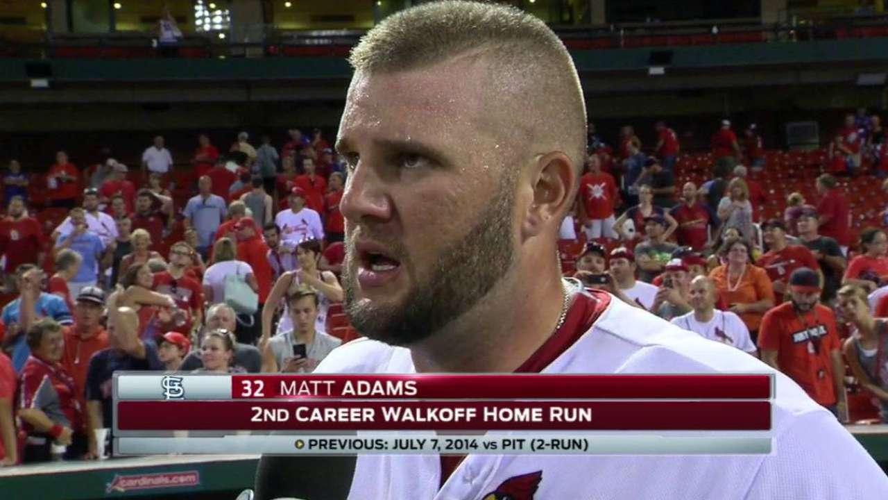 Adams on extra-inning walk-off