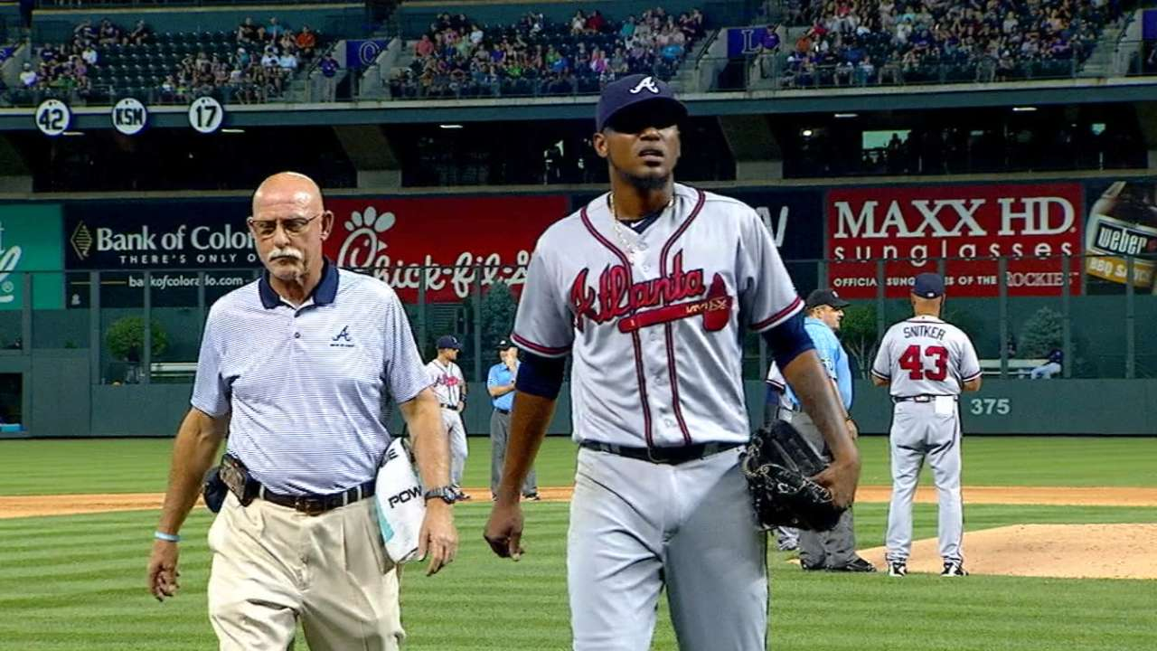 Teheran on lat injury