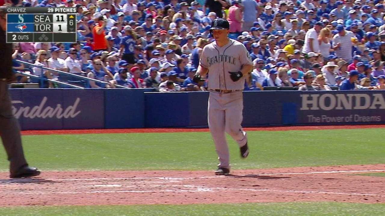 Seager's two-run home run