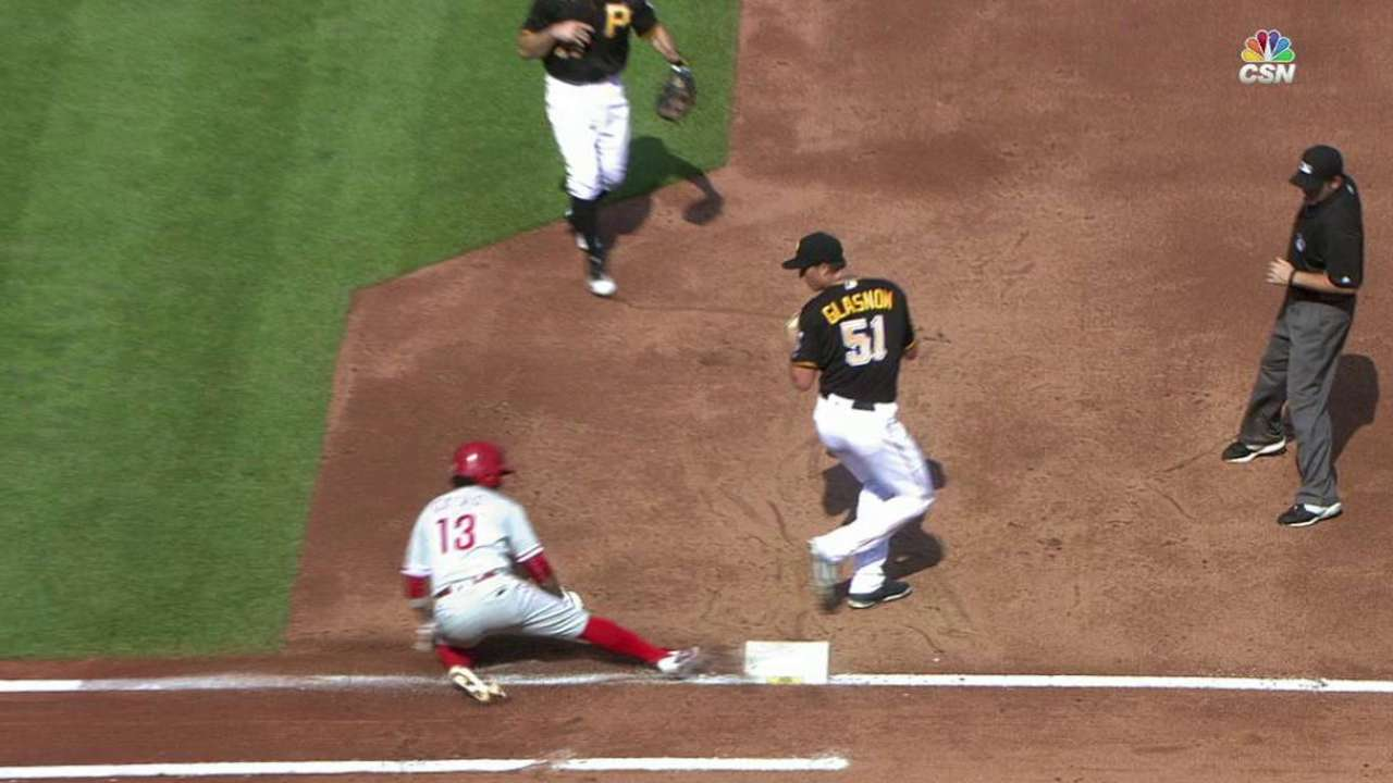 Galvis gets first on review