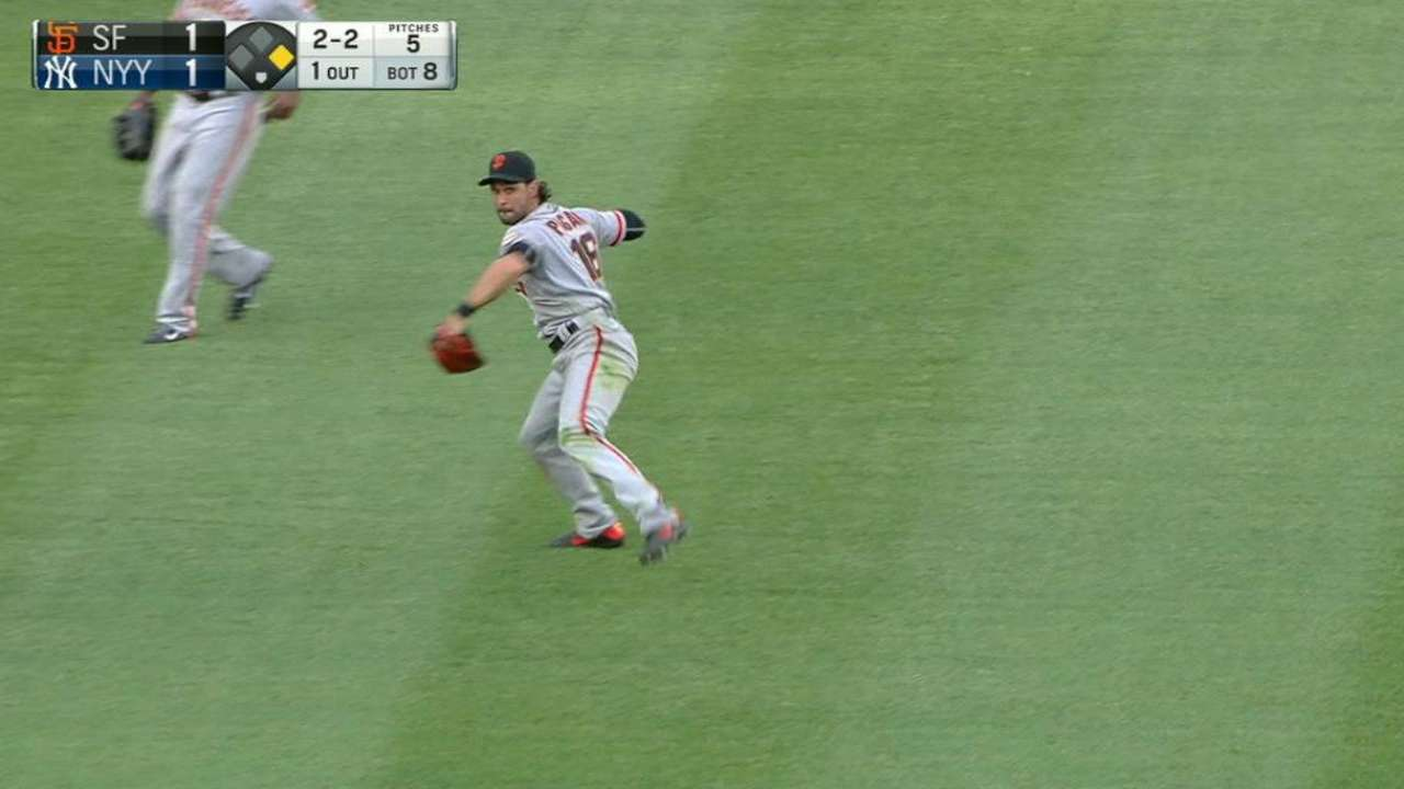 Pagan's tremendous double play