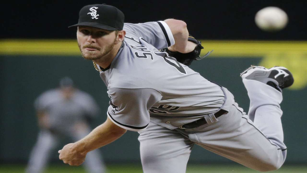 Sale's Sox future may have new wrinkle