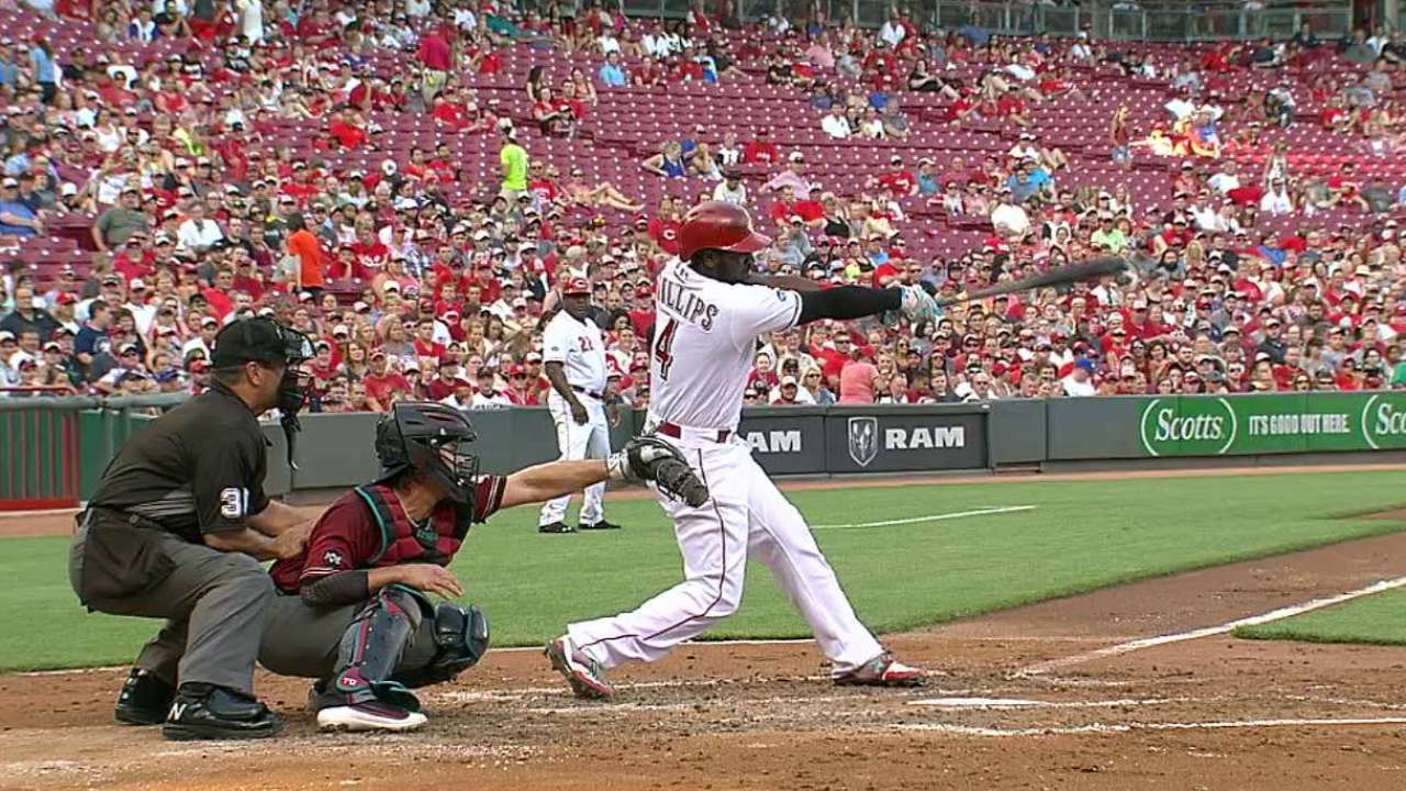 Phillips' RBI double in the 1st