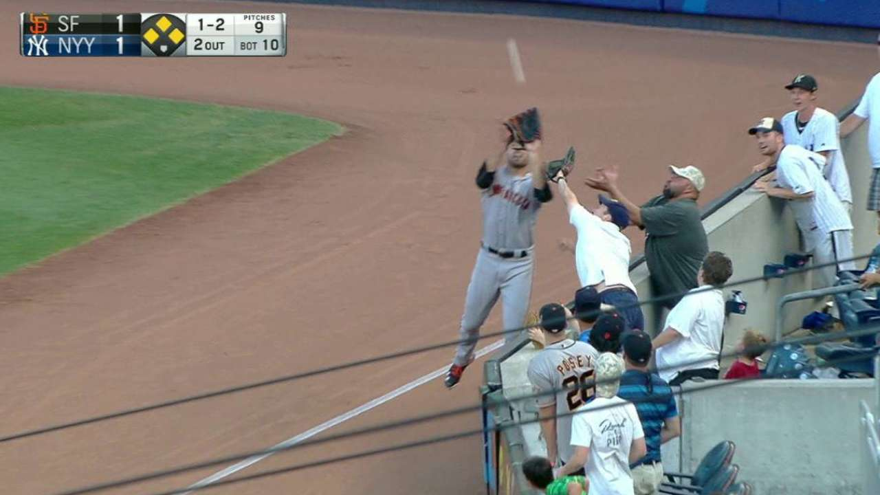 Williamson's great grab in right