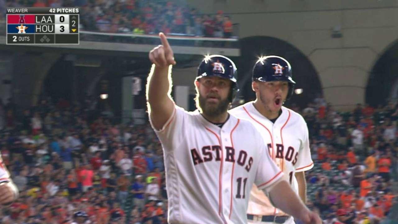 Gattis' three-run homer