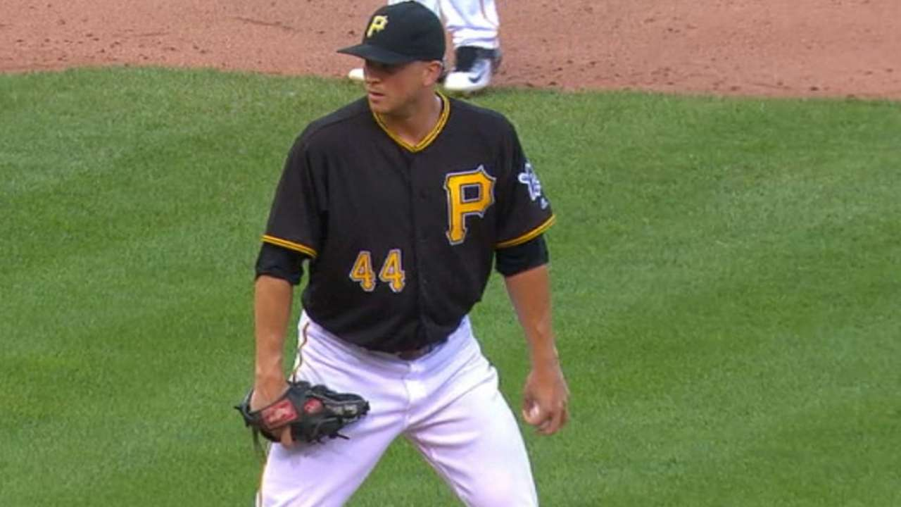 Pirates confident in Watson as new closer