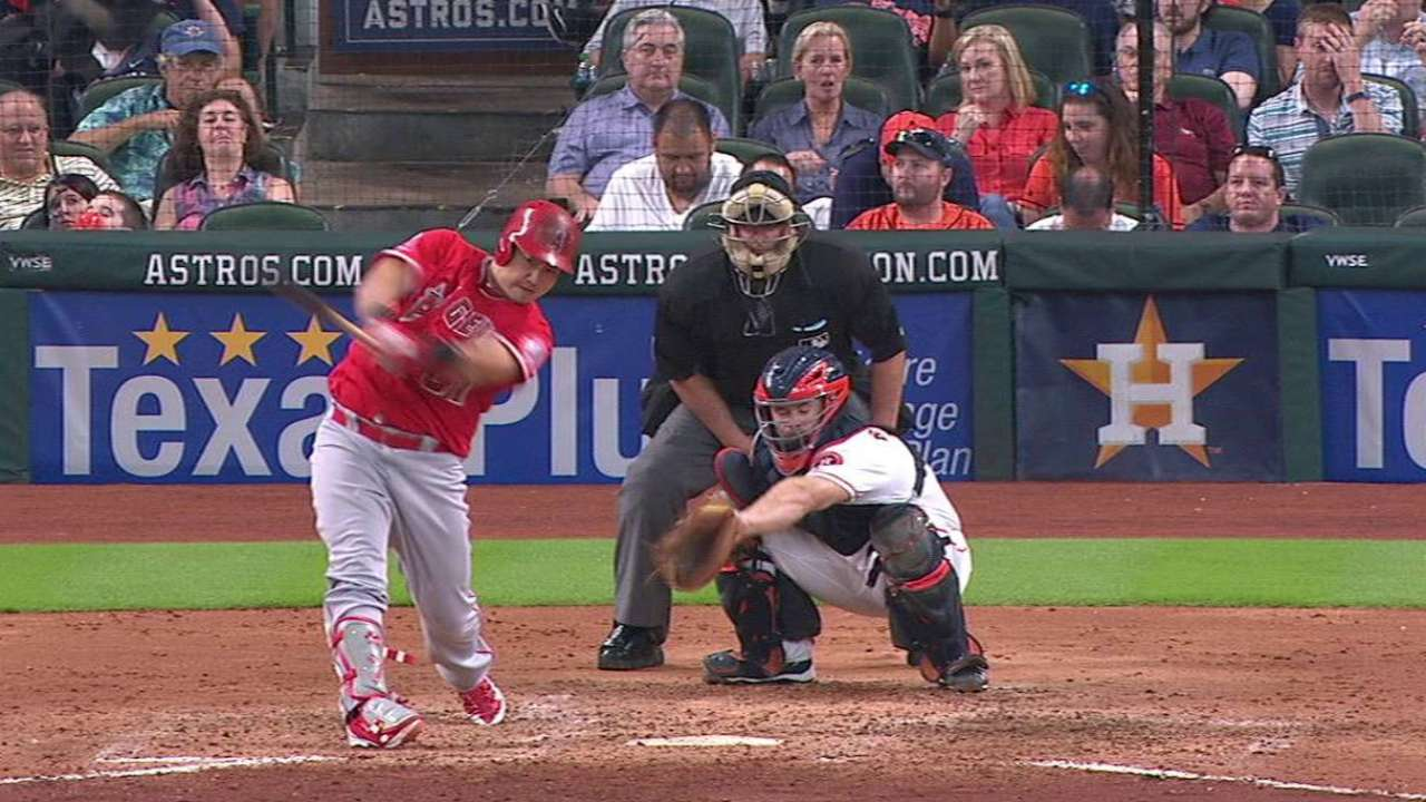 Angels unable to solve Astros' dominance